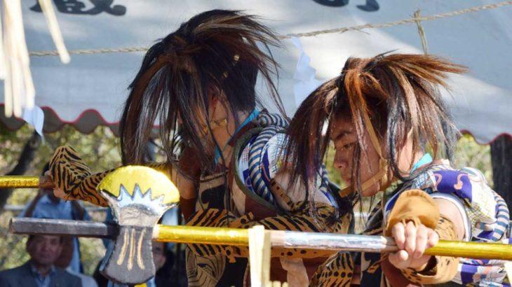 10/20(日)は四阿屋神社の御田舞(あずまやじんじゃのおんだまい)へ