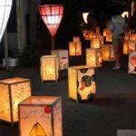 10/26は朝倉郡東峰村の「小石原千灯明」で幻想的な夜を堪能
