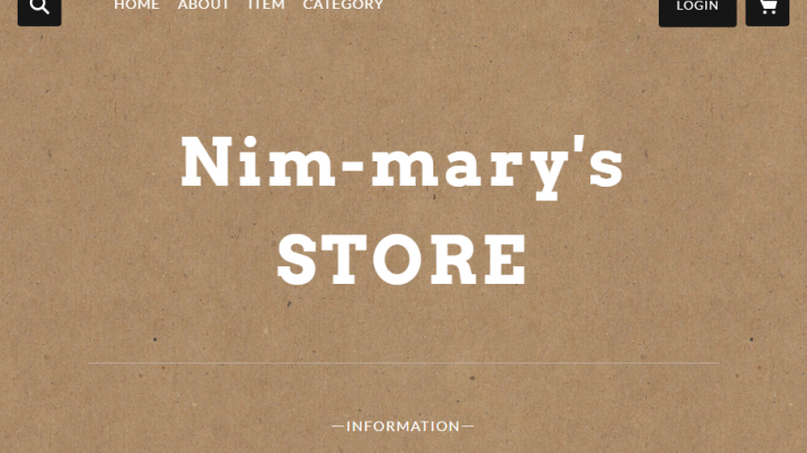 Nim-mary(ニンマリー)
