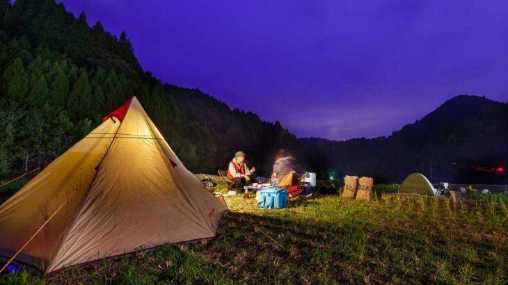 11/8(日)までの期間限定!朝倉郡東峰村の「棚田キャンプ」で自然を満喫しよう